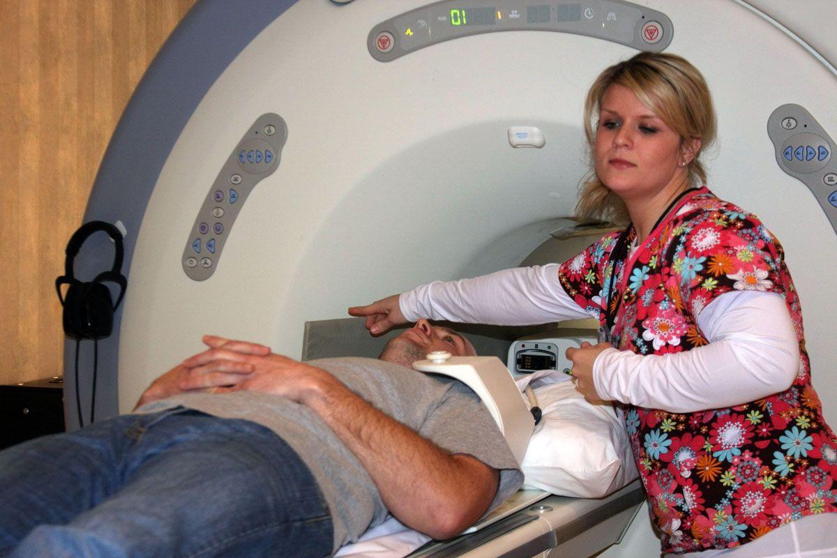 Как делают МРТ плечевого сустава