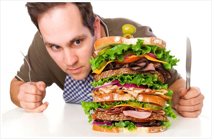 Неправильное питание - одна из возможных причин