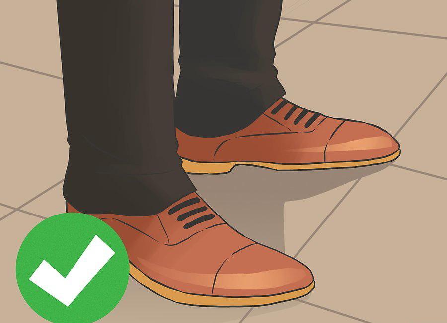 Носите удобную обувь