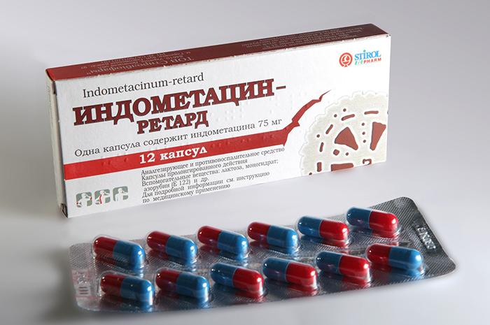 Один из препаратов, назначаемый при обострении подагры
