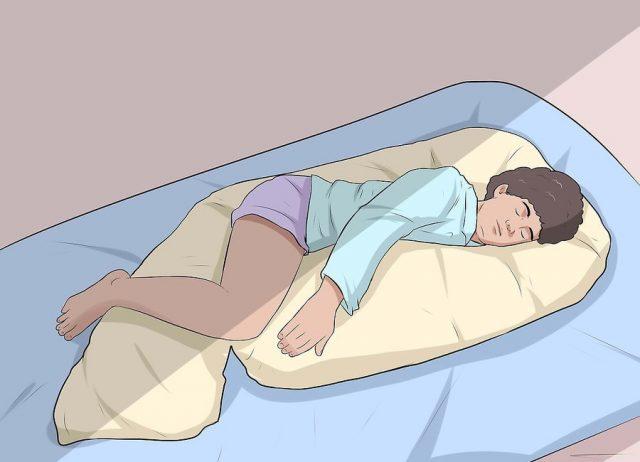 Пользуйтесь специальной подушкой для беременных