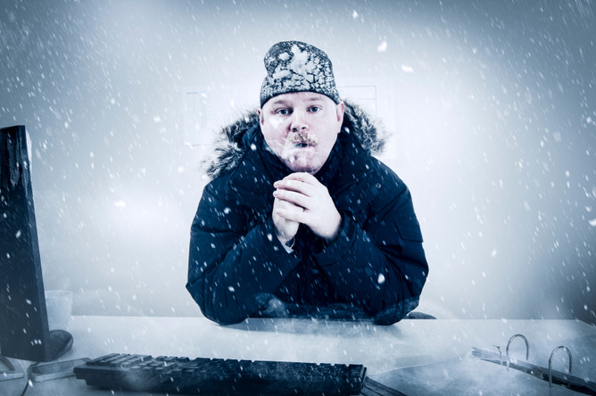 Регулярное нахождение на холоде