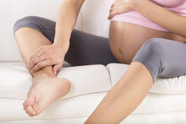 Судороги в ногах у беременной женщины