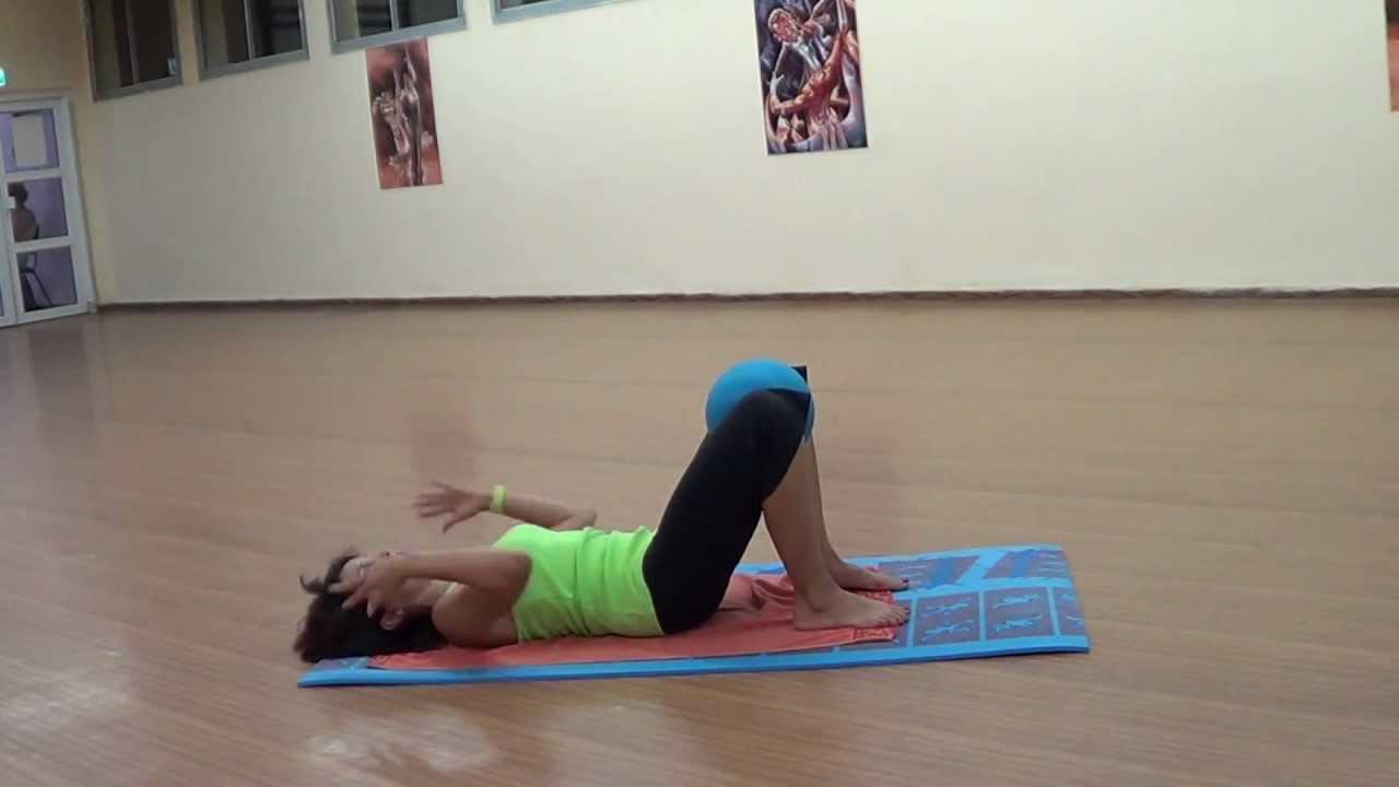 Упражнение при болях в копчике