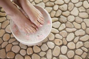 Горячие ванночки