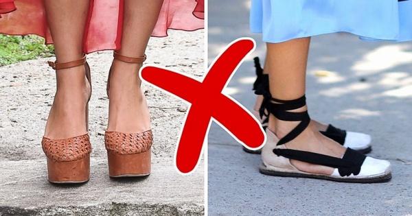 Не стоит носить неудобную обувь