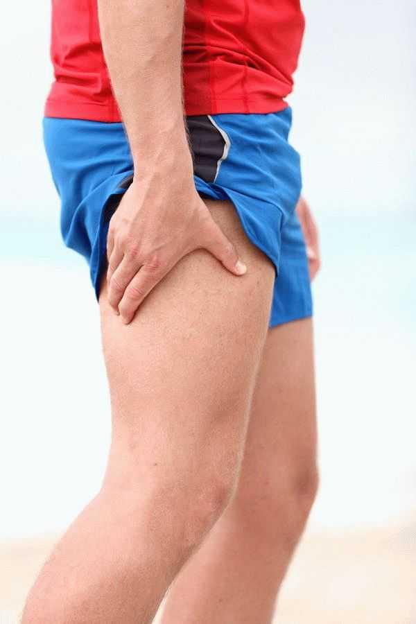 Такие ощущения могут возникать и при травме ног