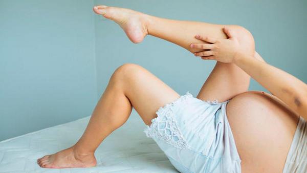 Судороги икроножных мышц нередко возникают при беременности