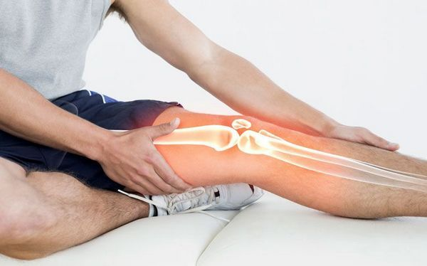 Боль из другой области может «отдавать» в часть от колена до бедра