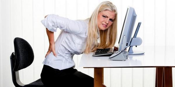 Сидячая работа может спровоцировать болезни опорно-двигательной системы