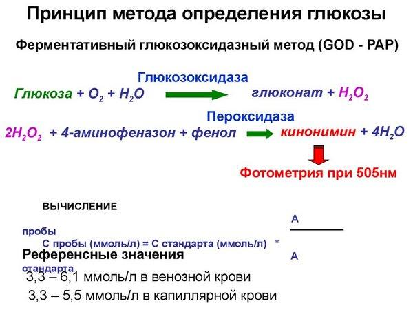 Анализ на уровень глюкозы в крови