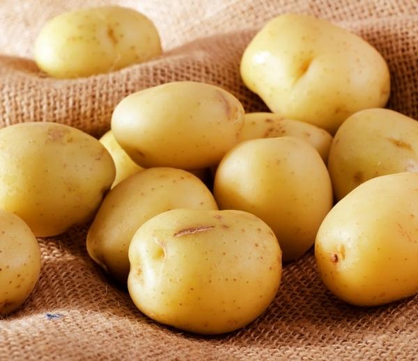 Используют и отваренный картофель