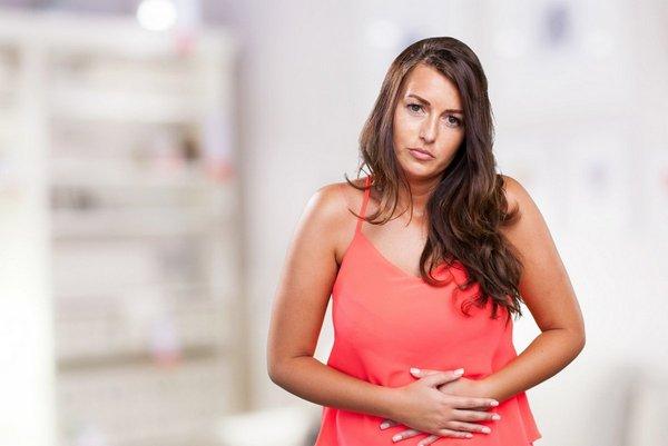 При проблемах с пищеварением бандаж носить запрещено