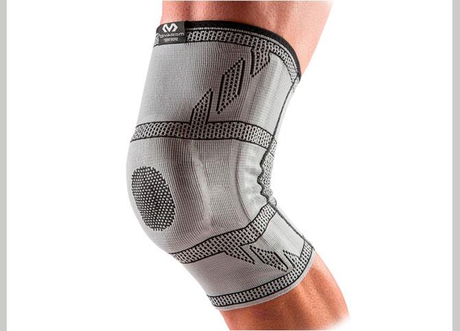 Эластичный коленный бандаж