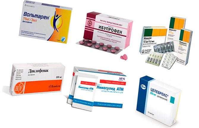 Препараты для терапии тендинита