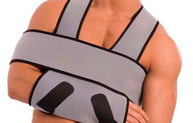 Иммобилизация при вывихе плеча