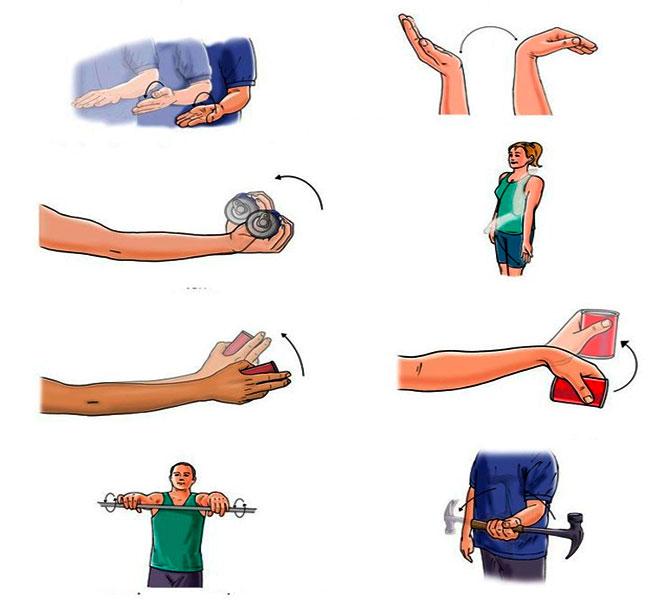 Лечебная гимнастика после растяжения связок кисти рук