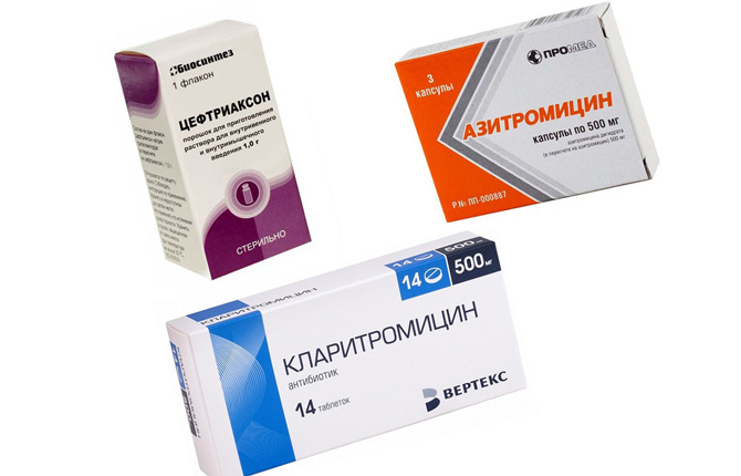 Антибиотики при миозите мышц